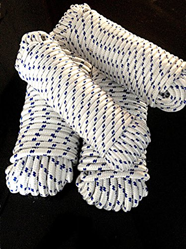 Allzweckseil 6 mm x 30 Meter aus Polypropylen Seil Kordel Schnur Leine Blau