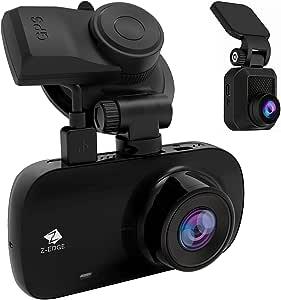 Z Edge Gps Dashcam Dual Autokamera Ultra Hd 1440p Mit Elektronik