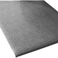 "Rhino Mats CST-2472-58G Comfort Step Textured Vinyl Foam Anti-Fatigue Mat, 2' Width x 6' Length x 5/8"" Thickness, Gray by Rhino Mats"