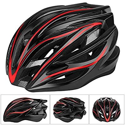 Six Foxes Cycle Helmet, 2018 Lightweight Unisex Adult Cycling Bike Helmet with Adjustable Thrasher Specialized Helmet for Men Women, 55-63 cm by Six Foxes