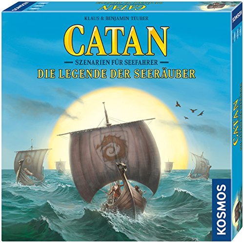 KOSMOS Catan 692902 – Catan – Szenarien für Seefahrer – Die Legende Der Seeräuber