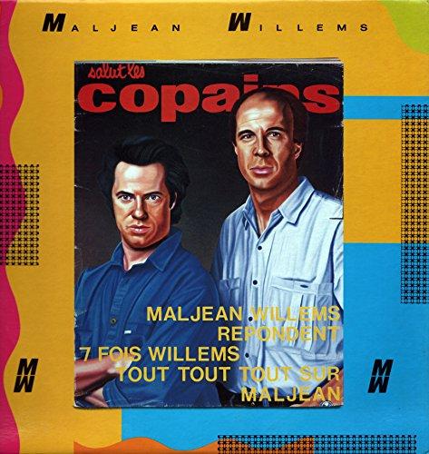 Maljean-Willems répondent - 7 fois Willems - Tout Tout sur Maljean - Salut les Copains (Vinyle, album 33 tours 12