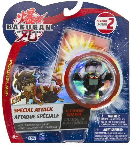 G-Power Change (Darkus - Black): Bakugan Battle Brawlers Special Attack Season 2 - NOT Randomly Picked (CCB151P) by Bakugan