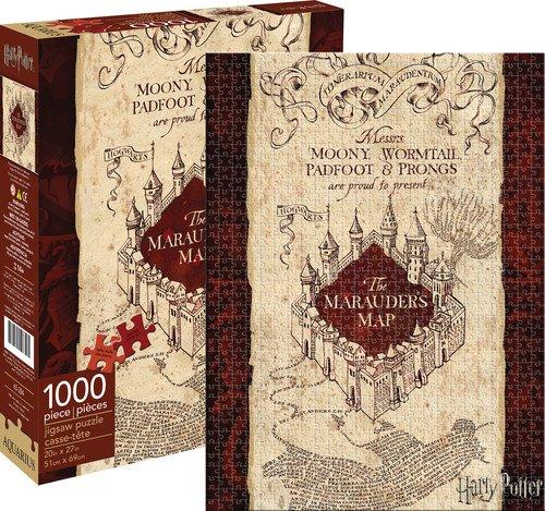 """Aquarius Harry Potter """"Marauders Map""""-Puzzle (1000Teile)"""