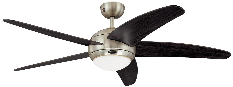 Westinghouse Ventilatore a Soffitto Bendan, Metallo, 80 watts