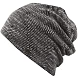 Beanie Chillouts Perth Hat Unisex Sommermütze Slouch (Black / White)
