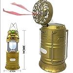 Mezon's LED Solar Emergency Light Bulb Mini Fan - Camping Lamp
