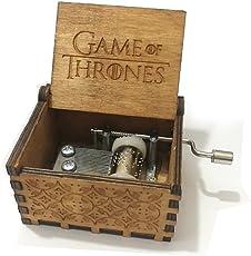 """Reine Hand-klassischen """"Game of Thrones"""", """"Frohe Weihnachten"""", """"Star Wars"""" Musik-Box Hand-hölzerne Spieluhr kreative Holz Handwerk beste Geschenke"""