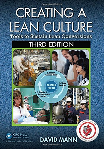 Creating a Lean Culture: Tools to Sustain Lean Conversions, Third Edition por David Mann