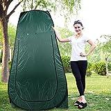 Hifeel Duschzelt Pop up Umkleidezelt Wasserdichtes Tragbares als Abstell und Toilette für unterwegs, Auch als Stauraum Beim Camping