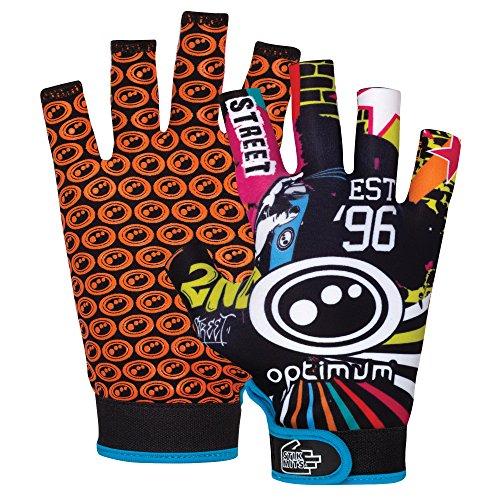 Optimale Stik Handschuh Herren Rugby Grip Handschuh Mehrfarbig - mehrfarbig