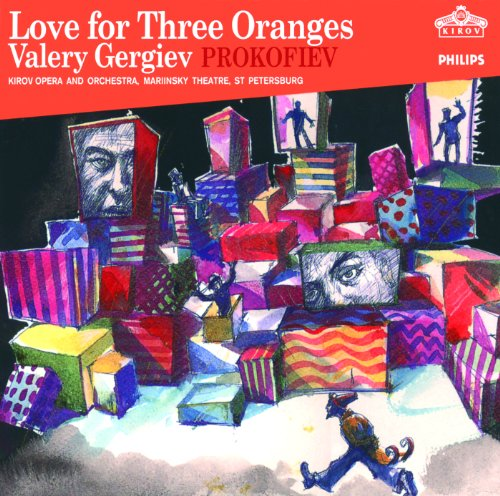 Prokofiev: The love for three oranges. Op.33 - Act 2. Scene 2 - Tri apelsina...tri apelsina