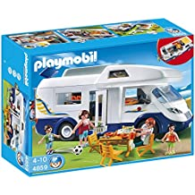 Playmobil - 4859 - Jeu de construction - Grand camping-car familial