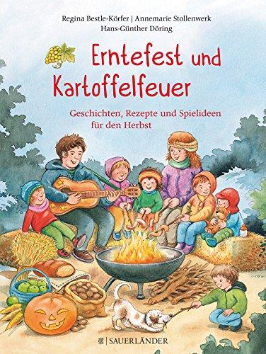 Erntefest und Kartoffelfeuer: Mit Kindern den Herbst erleben