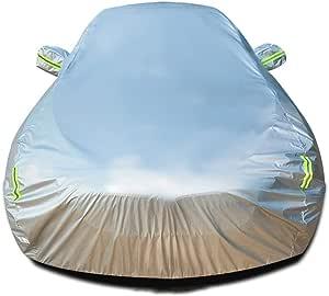 SjYsXm-car cover B/âche pour Voiture Compatible avec Opel Corsa Etanche Housse de Protection pour Voiture Respirant Housse Auto Protection de Neige et Dombrage Couverture Vehicule