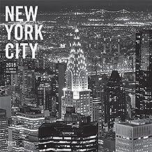 New York City - schwarz-weiß 2019 - 18-Monatskalender mit freier TravelDays-App (Wall-Kalender)