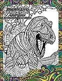 Malbuch Prehistoric Dinosaur von Tree Free