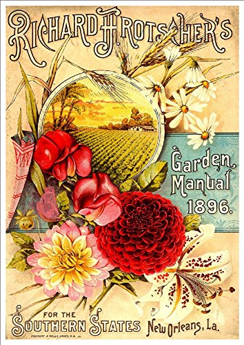 richard-frotschers-garden-manual-1896-a4-glossy-art-print-taken-from-a-beautifully-illustrated-vinta