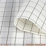 YSHIELD® Abschirmstoff SILVER-GRID | NF | Breite 150 cm | 1 Laufmeter
