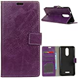 KM-WEN® Case for Alcatel A3 XL 9008D (6 Inch) Book Style