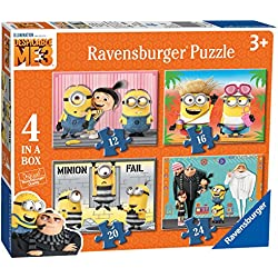 Minions Puzzle 4 in 1 (Ravensburger 06895)