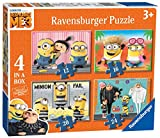 Ravensburger Despicable Me 3, 4 in einer Box (12, 16, 20, 24-) Puzzle – DM3