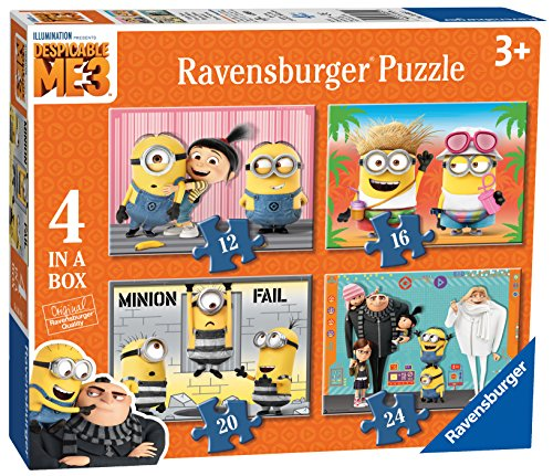 Minions - Puzzle 4 in 1 (Ravensburger...