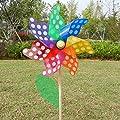 wiffe-Windspiel, Windrad Windmühle, Haus, Garten, Spielzeug von Wifun bei Du und dein Garten