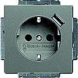 Busch-Jaeger Schuko USB-Steckdose Solo, 20EUCBUSB-803