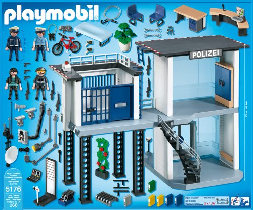 preisvergleich playmobil 5176 polizei kommandostation mit willbilliger. Black Bedroom Furniture Sets. Home Design Ideas