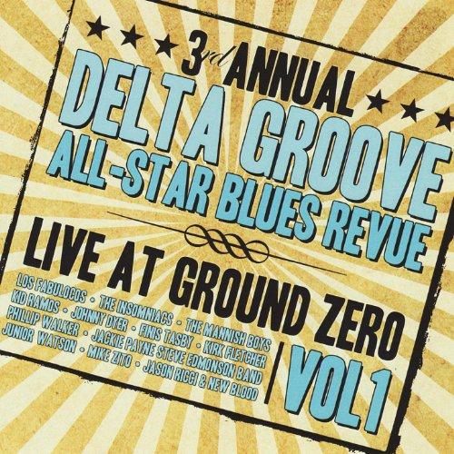 3rd Annual Delta Groove All-Star Blues Revue - Live At Ground Zero, Vol. 1