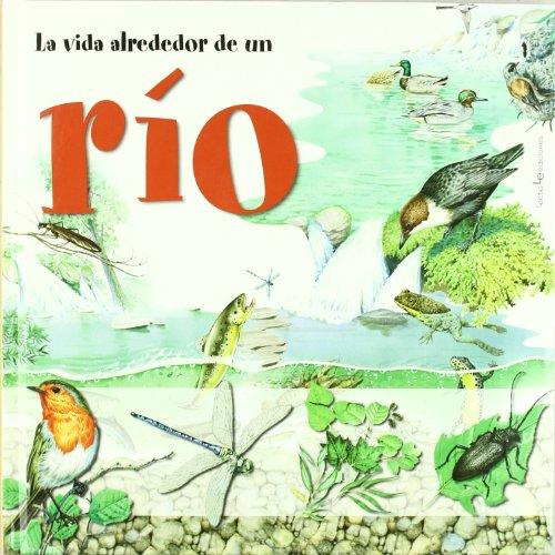 La vida alrededor de un río: Incluye un póster gigante para que puedas jugar a reconocer a los habitantes del gran roble (Otros Natura)