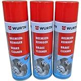 wurth brake cleaner 500 ml x 3