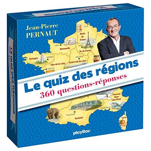 Coffret quiz des régions avec Jean-Pierre Pernaut