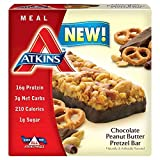 Atkins Ventaja Comida barras - Chocolate Mantequilla De Cacahuete Pretzel x 5 barras