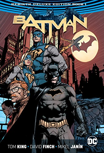 Batman HC Vol 1 & 2 Deluxe Edition (Rebirth)