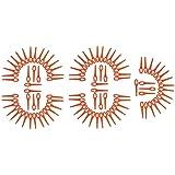 100 kunststof messen geschikt voor Einhell accu grastrimmer BG-CT 18 Li, RG-CT 18/1, GE-CT 18 Li, GE-CT 18 Li Solo