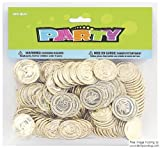 Plastic Gold Treasure Coins Party Bag Fillers, Pack of 576