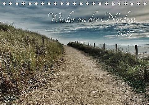 Wieder an der Nordsee (Tischkalender 2017 DIN A5 quer): Nordsee, wild, weit, wunderschön (Monatskalender, 14 Seiten ) (CALVENDO (Wolken Atlas)