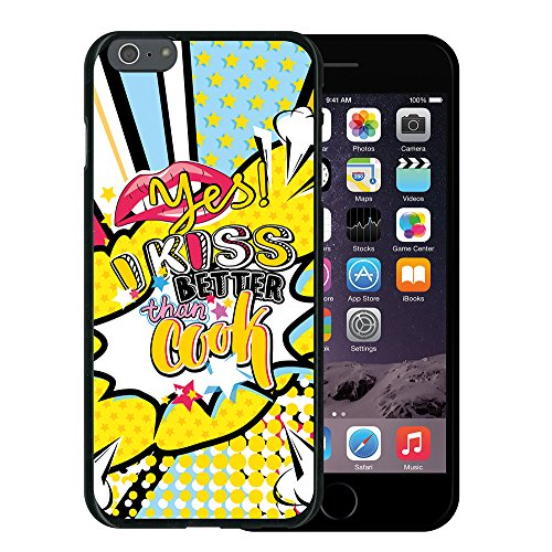 WoowCase Hülle Case für { iPhone 6 Plus 6S Plus } Handy Cover Schutzhülle Hund Fußabdruck Housse Gel iPhone 6 Plus | 6S Plus Schwarze D0479