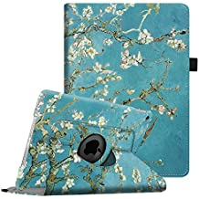 Fintie iPad mini 1 / 2 / 3 Funda - Giratoria 360 grados Smart Case Funda Carcasa con Función y Auto-Sueño / Estela para Apple iPad mini 1 2 3, Blossom