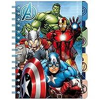 Libreta Vengadores Avengers Marvel marcadores