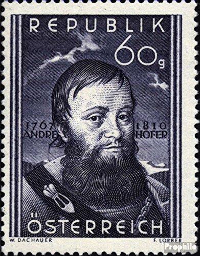 austria-949-completaproblema-1950-andreas-hofer-francobolli-