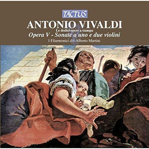 Preisvergleich Produktbild Vivaldi: Sonate für 1oder2 Violinen Martin