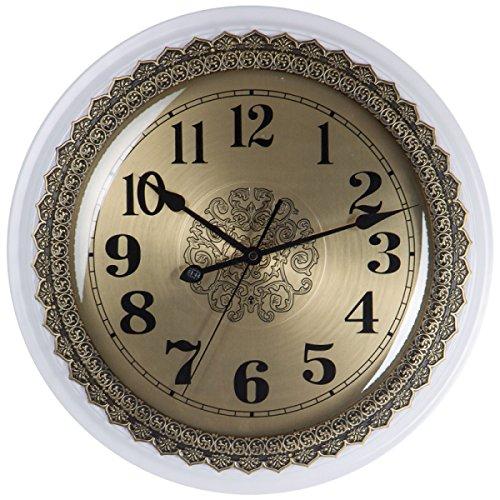 niveau-alliage-mtallique-ossature-bois-horloge-murale-mute-dcoration-40-40cmwhite