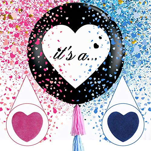 Aparty4u 2 Stück Luftballonset mit aufschlussreichem Genre, 36