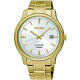 Seiko Reloj Analogico para Hombre de Cuarzo con Correa en Acero Inoxidable SGEH70P1