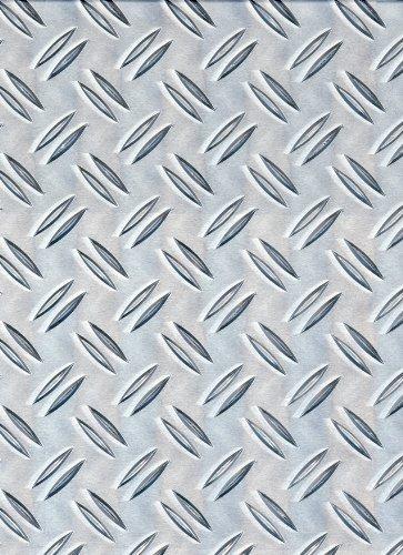 M/étal Largeur mm: 100 Longueur mm: 1000 T/ôle aluminium avec rainures en forme de larmes de 3,5 x 5/mm Dimensions de t/ôle jusqua 1000/x 1000/mm