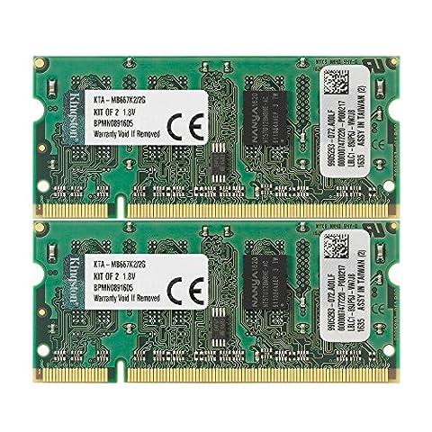 Kingston KTA-MB667K2/2G PC2-5300 Arbeitspeicher 2 GB (667 MHz, 200-polig, 2