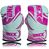Boxing Gloves Muay Thai Training Mitts kickboxing Fighting Mico Hide Leather Sparring Punching Bag